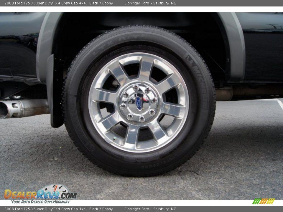 2008 Ford F250 Super Duty FX4 Crew Cab 4x4 Wheel Photo #19