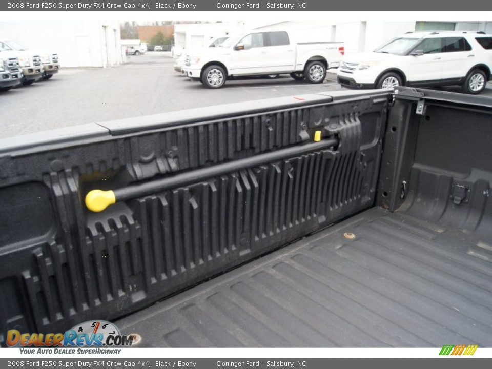2008 Ford F250 Super Duty FX4 Crew Cab 4x4 Black / Ebony Photo #21