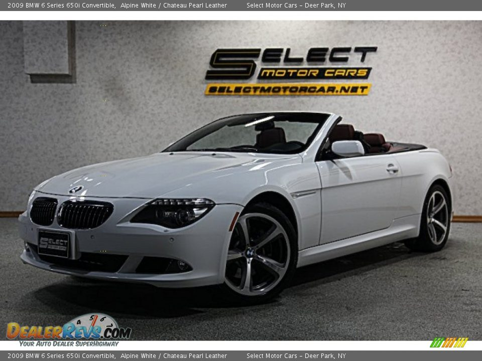 2009 bmw 6 series 650i convertible alpine white chateau. Black Bedroom Furniture Sets. Home Design Ideas