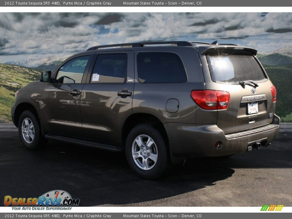 2012 Toyota Sequoia Sr5 4wd Pyrite Mica Graphite Gray