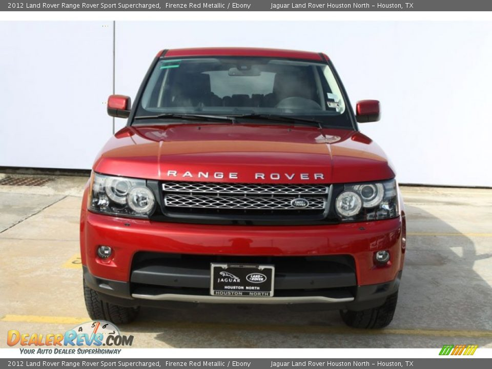 2012 land rover range rover sport supercharged firenze red. Black Bedroom Furniture Sets. Home Design Ideas