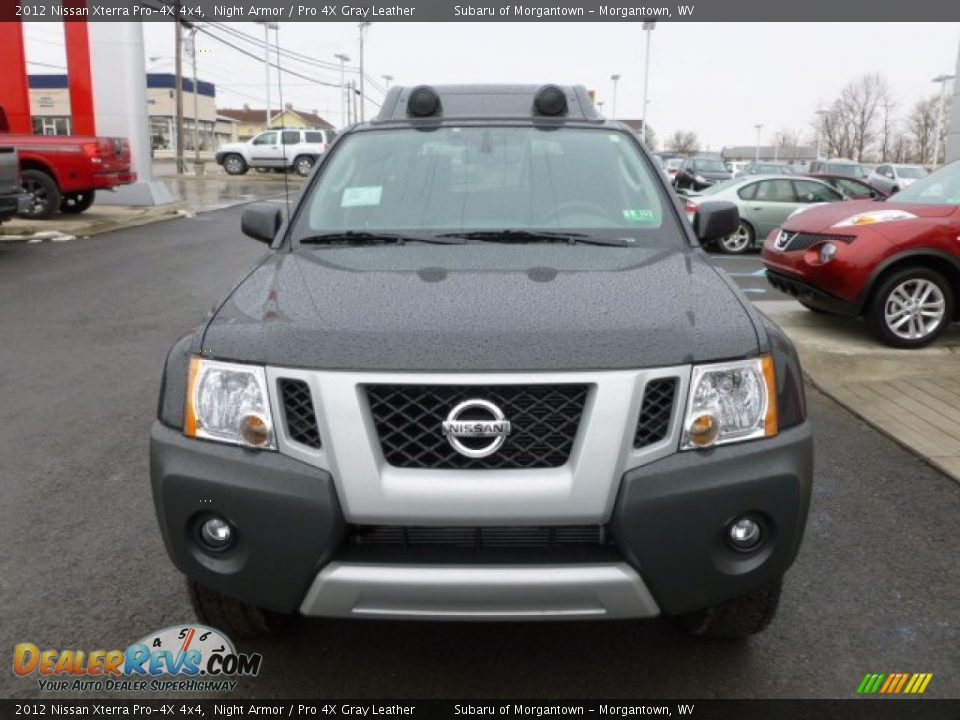 2012 nissan xterra pro 4x 4x4 night armor pro 4x gray leather photo 2. Black Bedroom Furniture Sets. Home Design Ideas