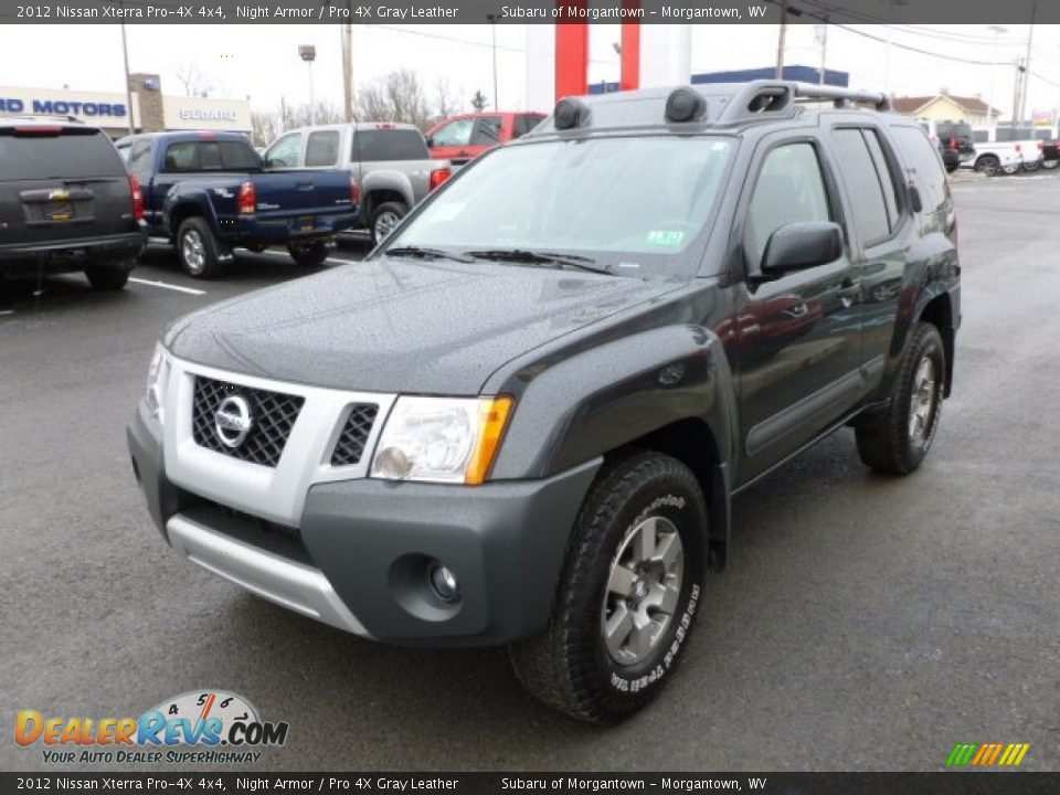 2012 nissan xterra pro 4x 4x4 night armor pro 4x gray leather photo 3. Black Bedroom Furniture Sets. Home Design Ideas