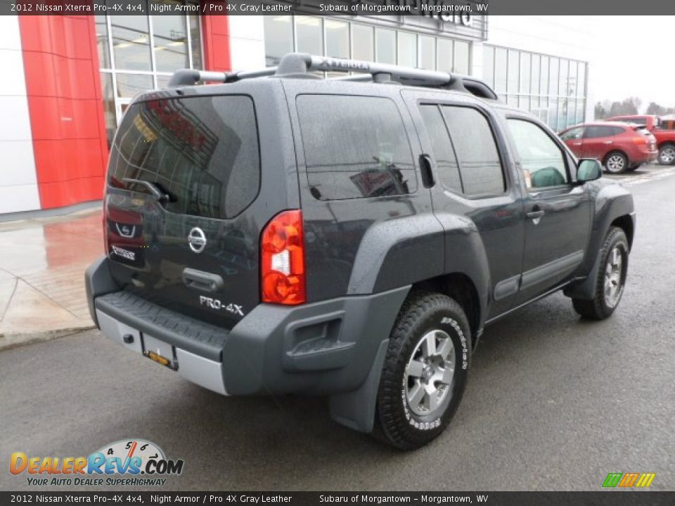 2012 nissan xterra pro 4x 4x4 night armor pro 4x gray leather photo 7. Black Bedroom Furniture Sets. Home Design Ideas