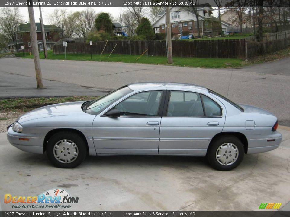 1997 Chevrolet Lumina LS Light Adriadic Blue Metallic / Blue Photo #1