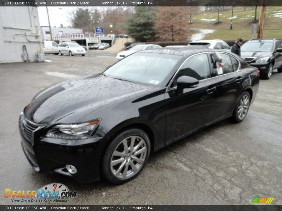 2013 lexus gs 350 awd obsidian black black photo 8. Black Bedroom Furniture Sets. Home Design Ideas