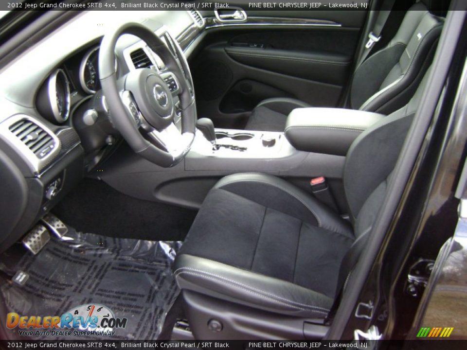 SRT Black Interior 2012 Jeep Grand Cherokee SRT8 4x4