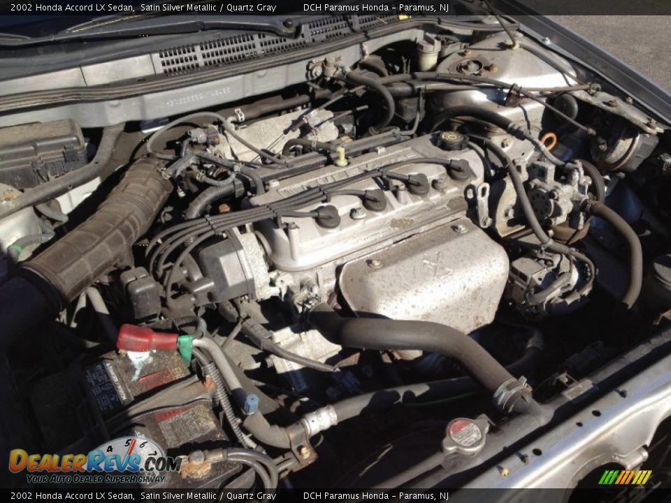 2002 honda accord lx sedan 2 3 liter sohc 16 valve vtec 4 cylinder engine photo 5. Black Bedroom Furniture Sets. Home Design Ideas