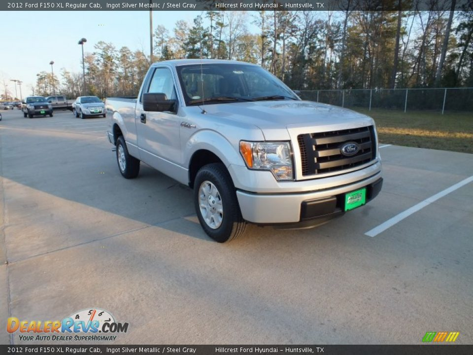 2012 ford f150 xl regular cab ingot silver metallic steel gray photo 1. Black Bedroom Furniture Sets. Home Design Ideas