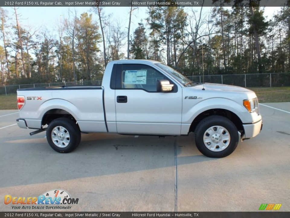 2012 ford f150 xl regular cab ingot silver metallic steel gray photo 2. Black Bedroom Furniture Sets. Home Design Ideas