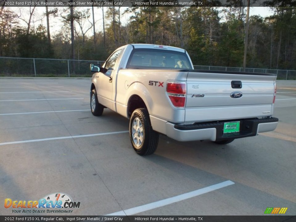 2012 ford f150 xl regular cab ingot silver metallic steel gray photo 5. Black Bedroom Furniture Sets. Home Design Ideas