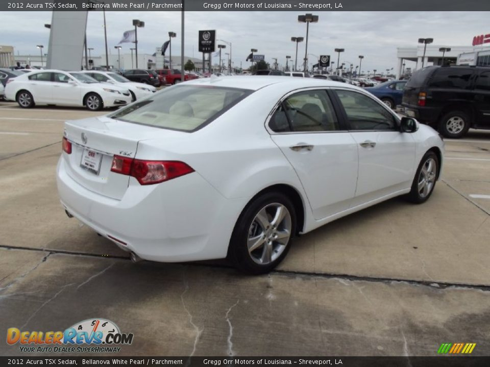 2012 acura tsx sedan bellanova white pearl parchment. Black Bedroom Furniture Sets. Home Design Ideas