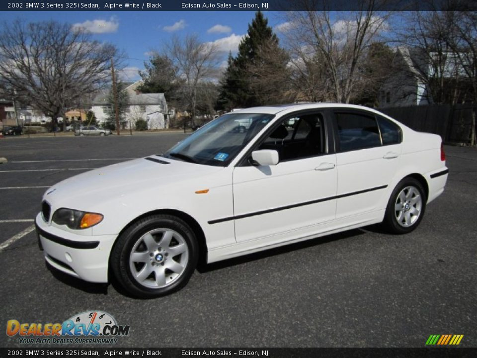 2002 bmw 3 series 325i sedan alpine white black photo 1. Black Bedroom Furniture Sets. Home Design Ideas