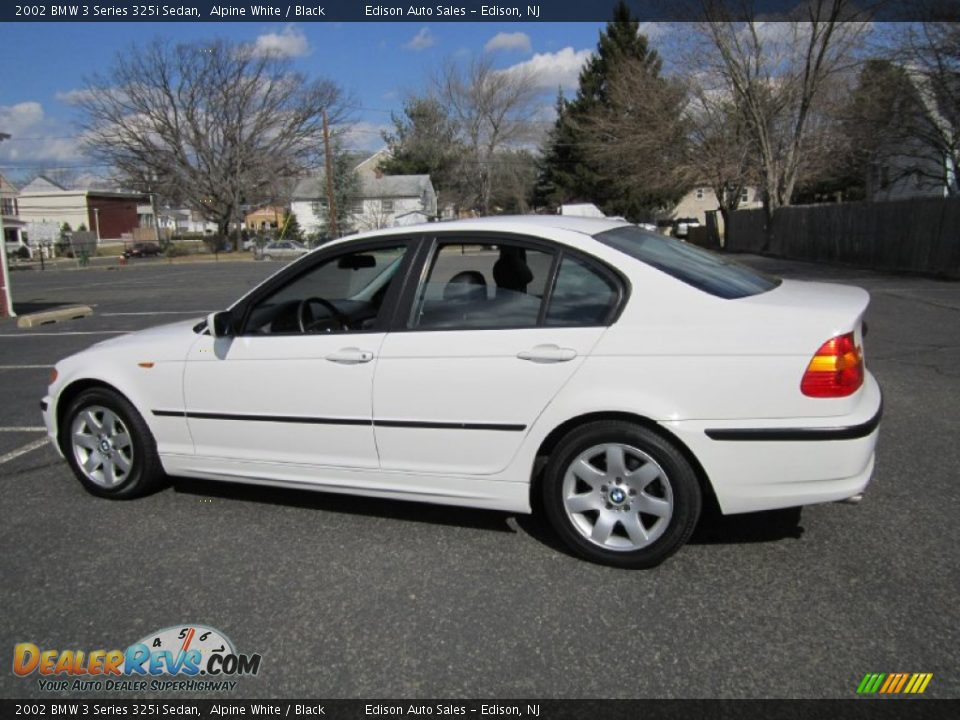 2002 bmw 3 series 325i sedan alpine white black photo 4. Black Bedroom Furniture Sets. Home Design Ideas