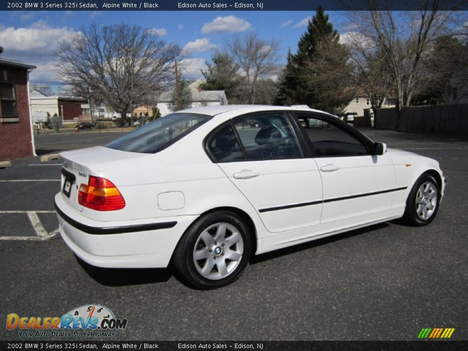 2002 bmw 3 series 325i sedan alpine white black photo 8. Black Bedroom Furniture Sets. Home Design Ideas