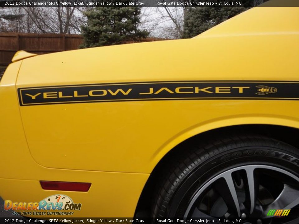 2012 Dodge Challenger Srt8 Yellow Jacket Logo Photo 6 Dealerrevs Com