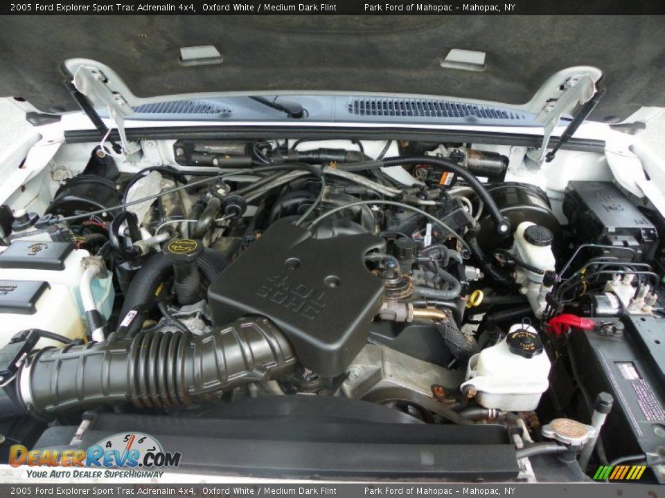 2005 Ford Explorer Sport Trac Adrenalin 4x4 4 0 Liter Sohc 12 Valve V6 Engine Photo  10