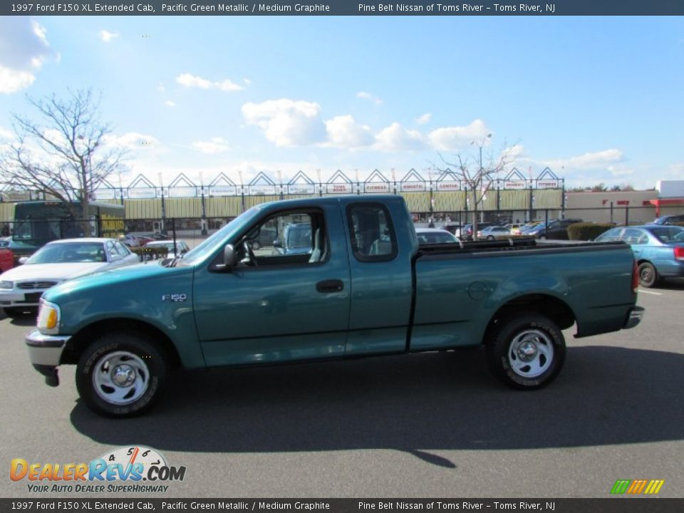 1997 ford f150 xl extended cab pacific green metallic medium graphite photo 4. Black Bedroom Furniture Sets. Home Design Ideas