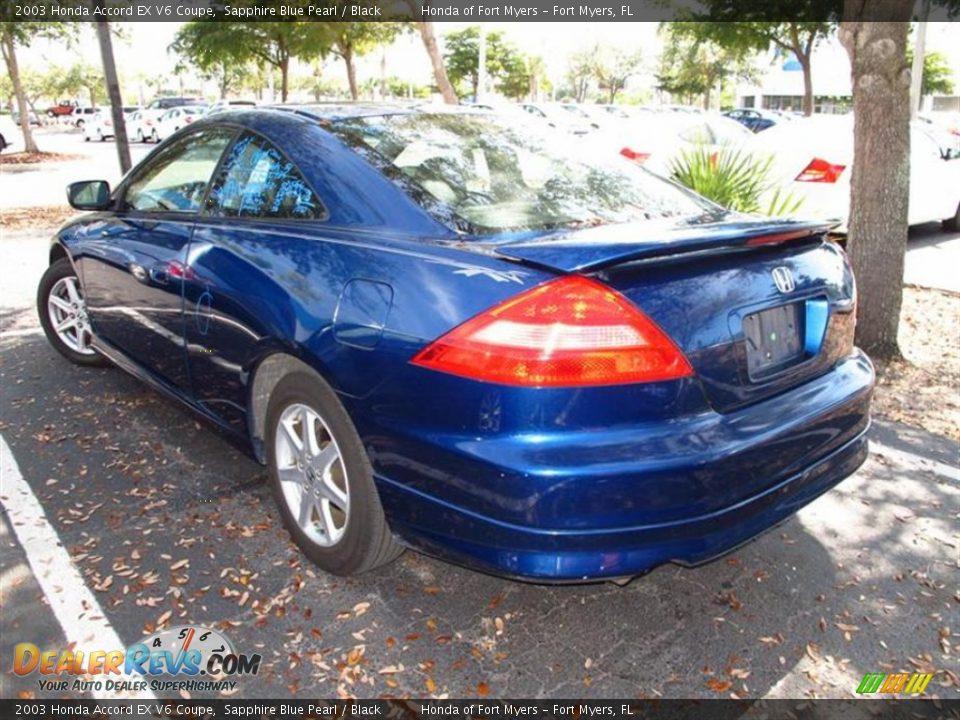Honda accord 2003 coupe blue