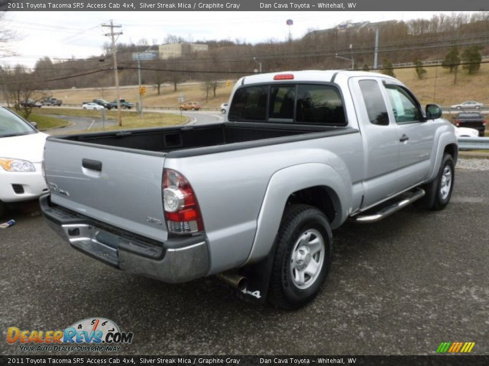 2011 toyota tacoma sr5 access cab 4x4 silver streak mica graphite gray photo 6. Black Bedroom Furniture Sets. Home Design Ideas