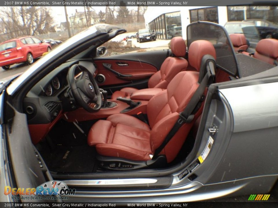 Bmw Red Interior Red Interior 2007 Bmw m6
