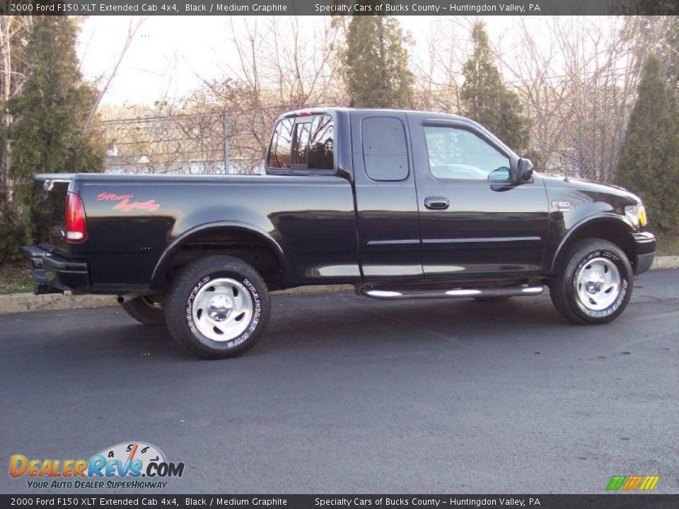 Ford Dealer Locator >> 2000 Ford F150 XLT Extended Cab 4x4 Black / Medium Graphite Photo #17 | DealerRevs.com