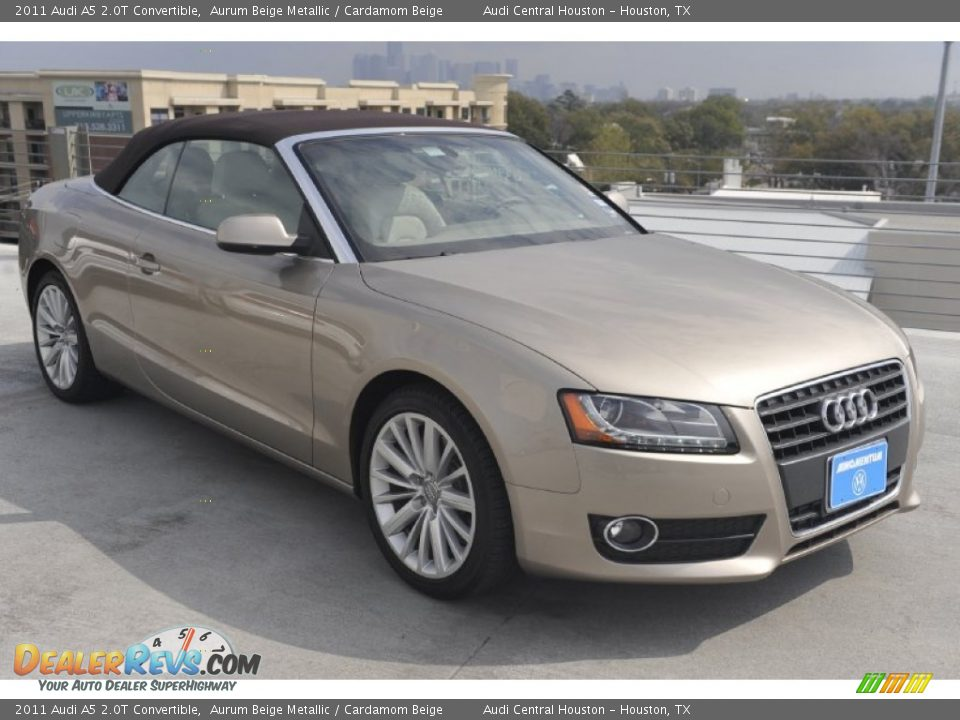 2011 Audi A5 2 0t Convertible Aurum Beige Metallic