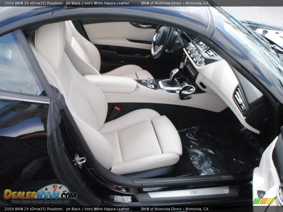 Ivory White Nappa Leather Interior 2009 Bmw Z4 Sdrive35i