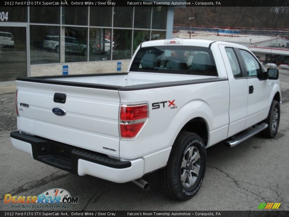 Oxford White 2013 Ford F150 Stx Supercab 4x4 Exterior