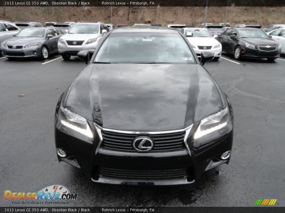 2013 lexus gs 350 awd obsidian black black photo 7. Black Bedroom Furniture Sets. Home Design Ideas