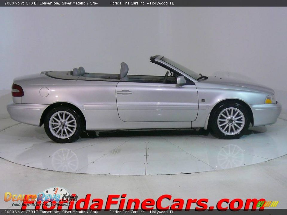 2000 Volvo C70 Lt Convertible Silver Metallic Gray Photo