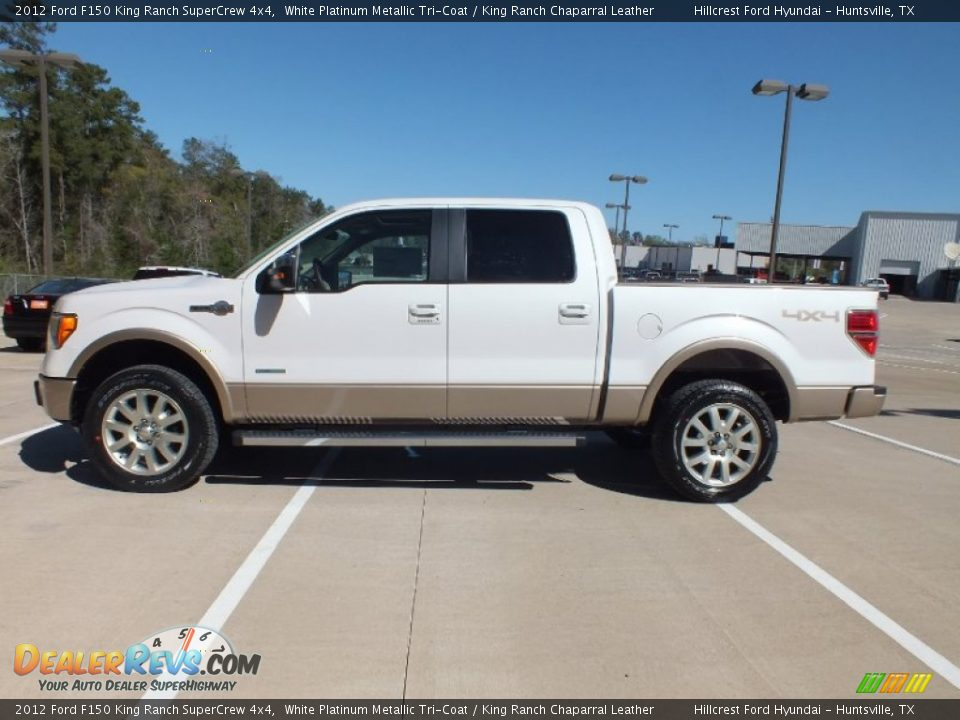 2012 Ford F150 King Ranch Supercrew 4x4 White Platinum