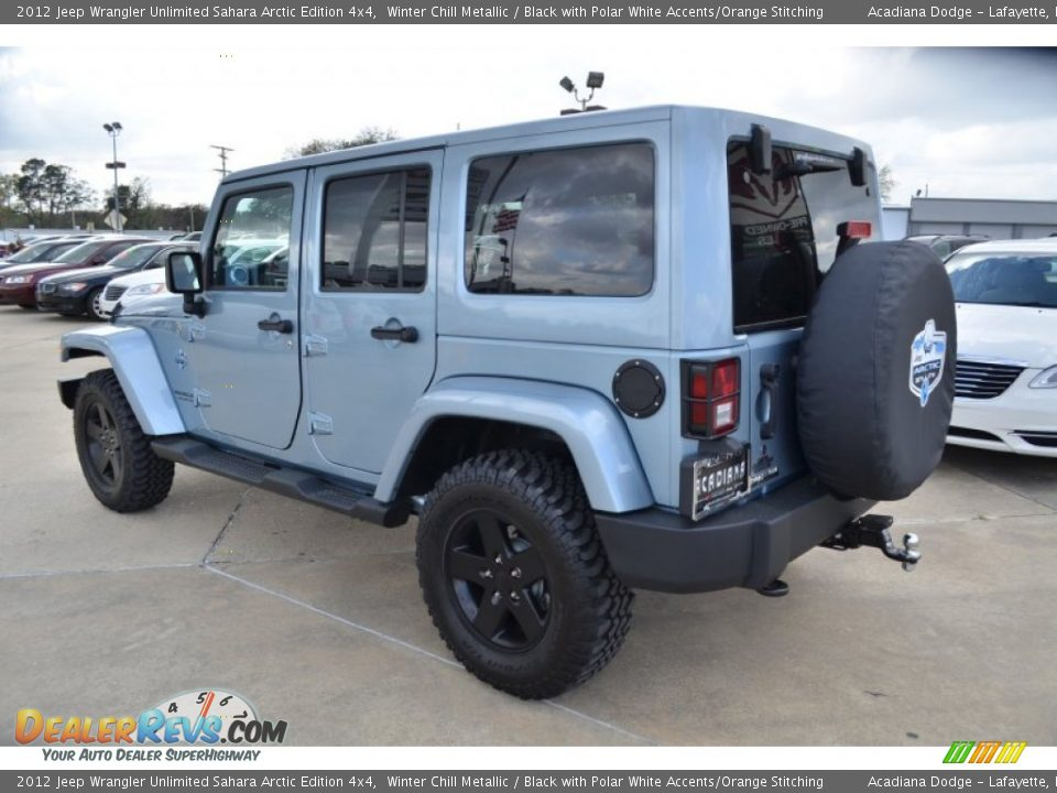 2012 jeep wrangler unlimited sahara arctic edition 4x4 winter chill metallic black with polar. Black Bedroom Furniture Sets. Home Design Ideas