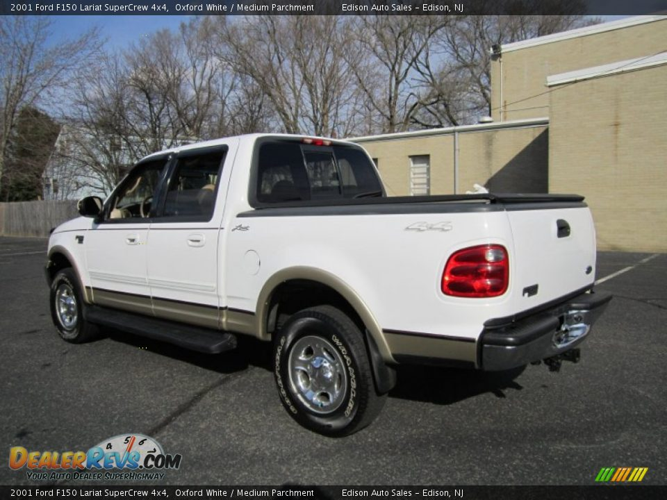 2001 ford f150 lariat supercrew 4x4 oxford white medium parchment. Cars Review. Best American Auto & Cars Review