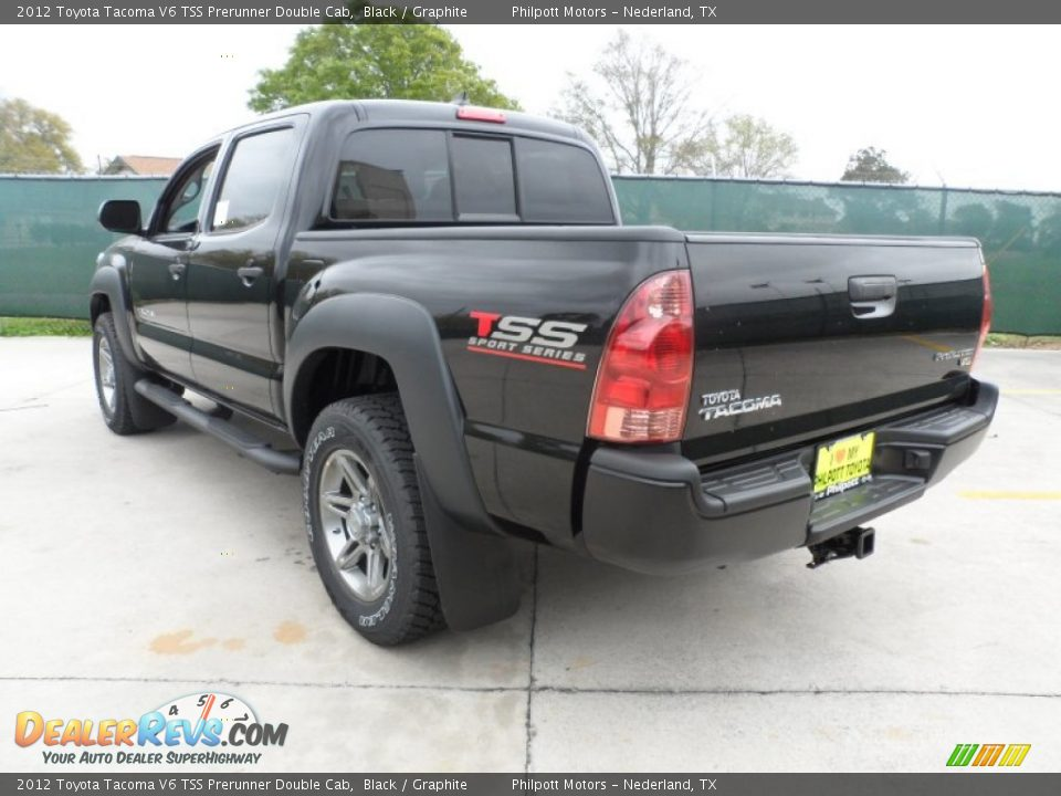 black 2012 toyota tacoma v6 tss prerunner double cab photo 5. Black Bedroom Furniture Sets. Home Design Ideas
