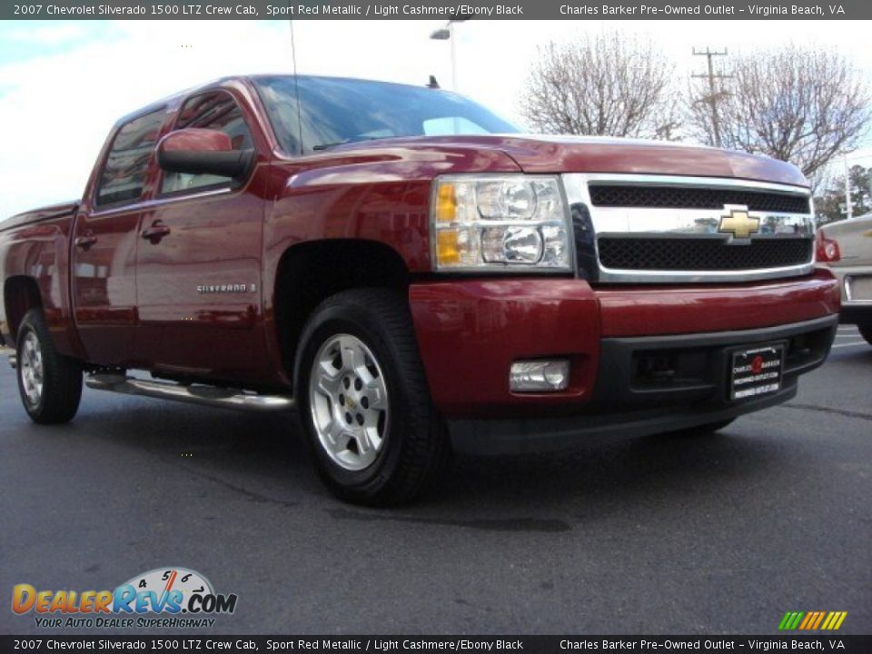 2007 chevrolet silverado 1500 ltz crew cab sport red. Black Bedroom Furniture Sets. Home Design Ideas