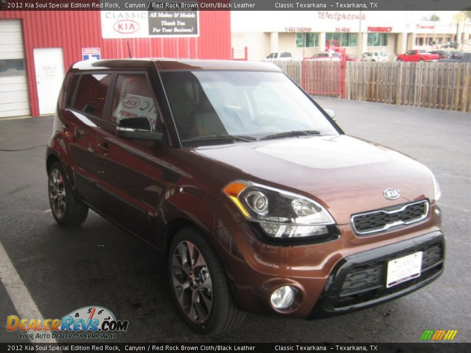 2012 kia soul special edition red rock canyon red rock. Black Bedroom Furniture Sets. Home Design Ideas