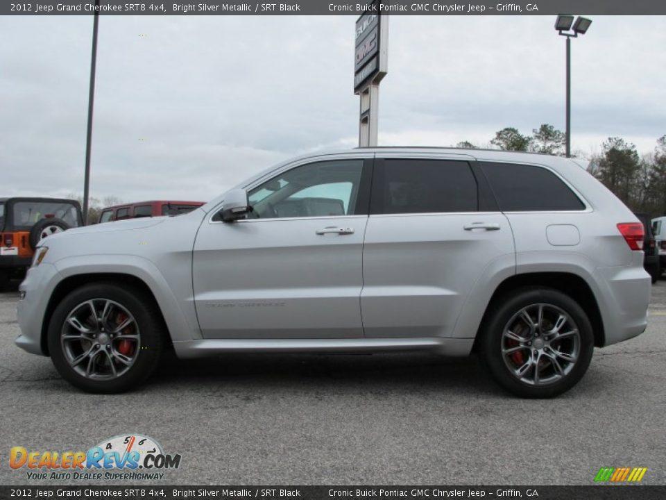2012 jeep grand cherokee srt8 4x4 bright silver metallic srt black photo 4 dealerrevs com