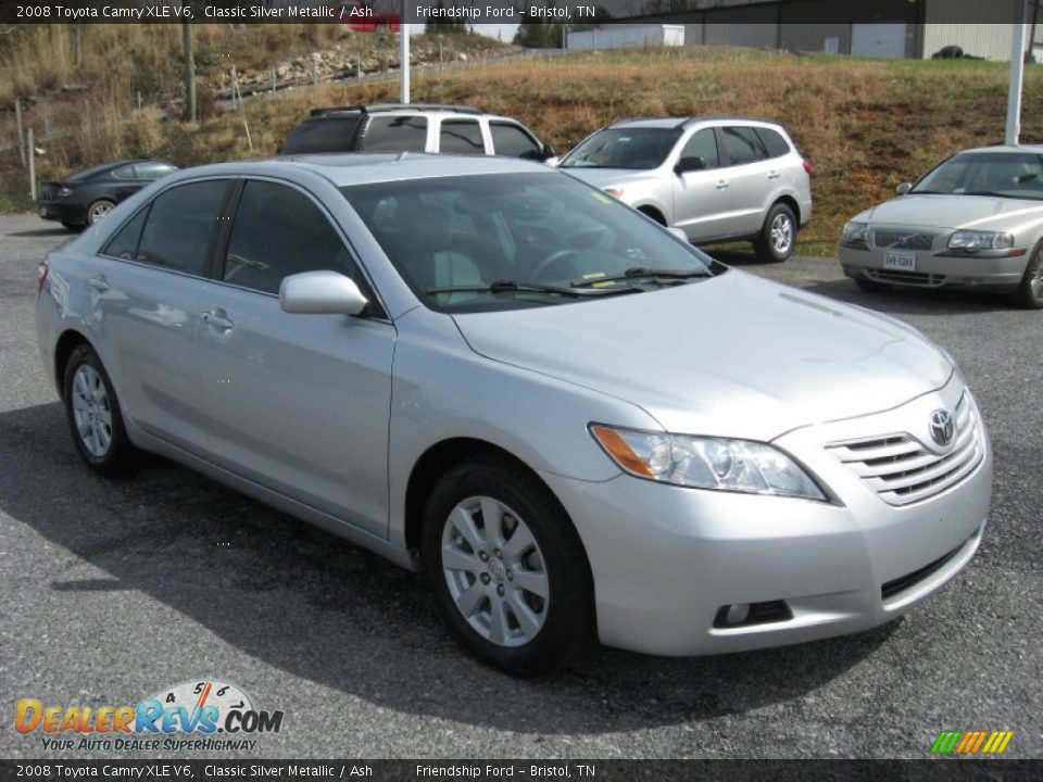 2008 toyota camry xle v6 classic silver metallic ash photo 4. Black Bedroom Furniture Sets. Home Design Ideas