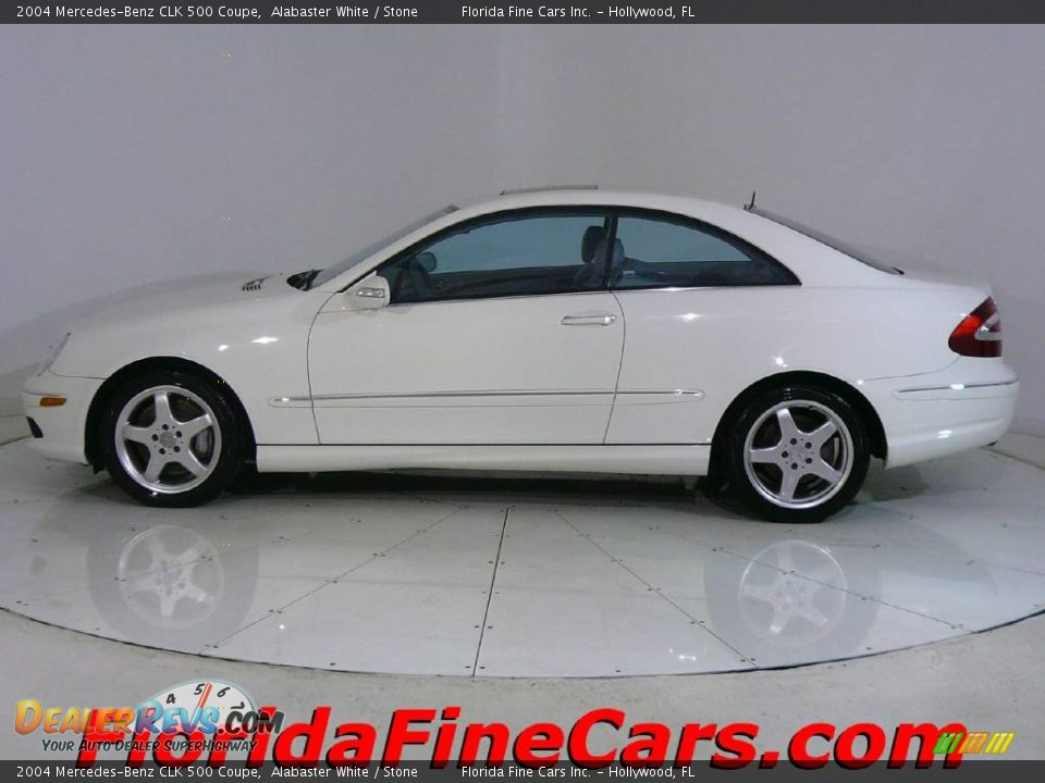 2004 mercedes benz clk 500 coupe alabaster white stone for 2004 mercedes benz clk500 coupe