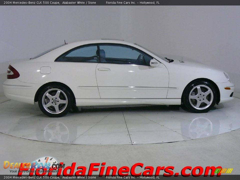 2004 mercedes benz clk 500 coupe alabaster white stone for 2004 mercedes benz clk 500