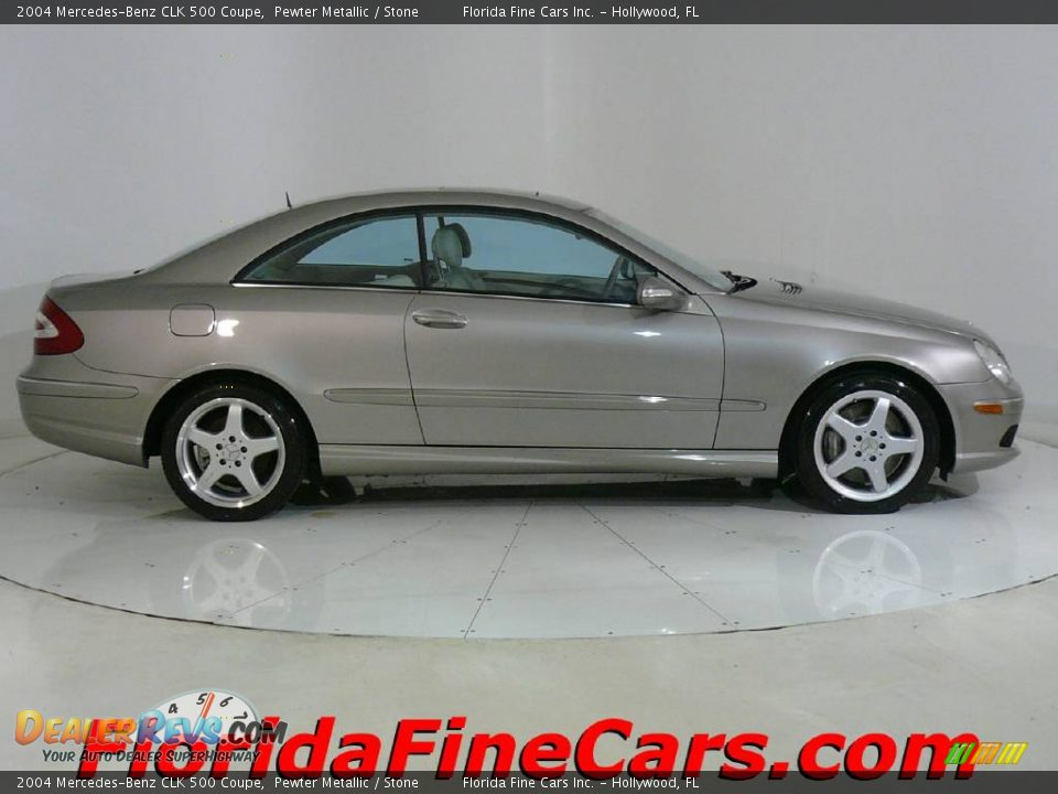 2004 mercedes benz clk 500 coupe pewter metallic stone for Mercedes benz dealer locator