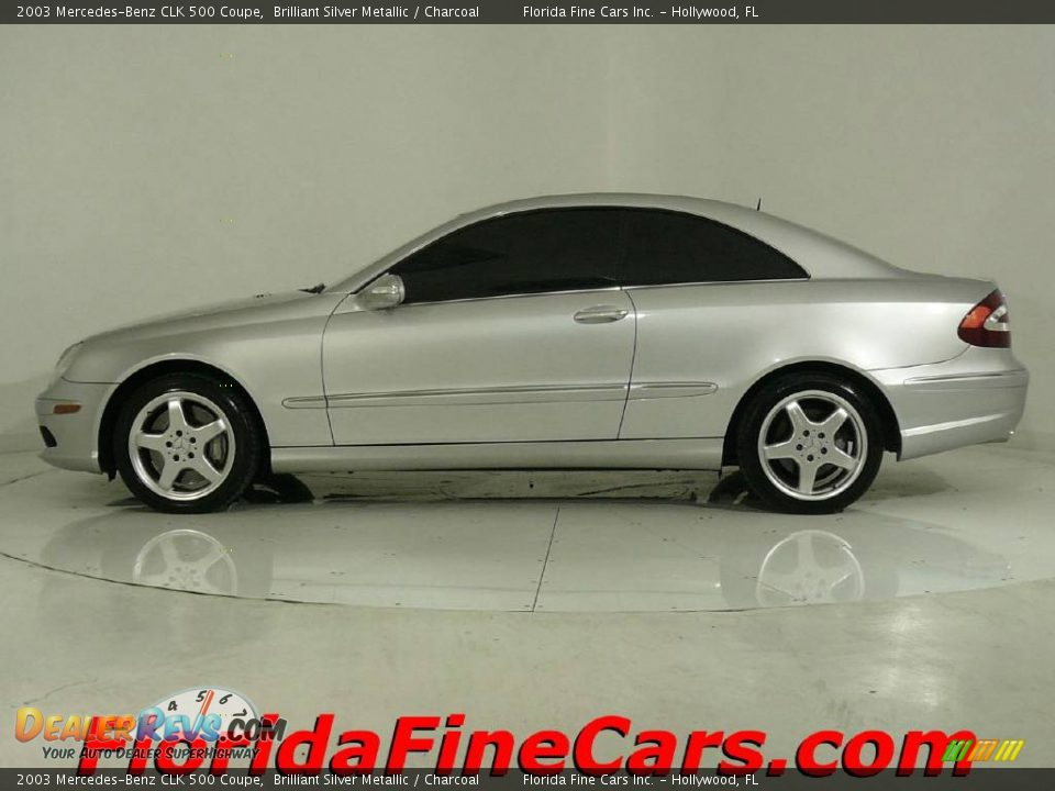 2003 mercedes benz clk 500 coupe brilliant silver metallic for 2003 mercedes benz clk