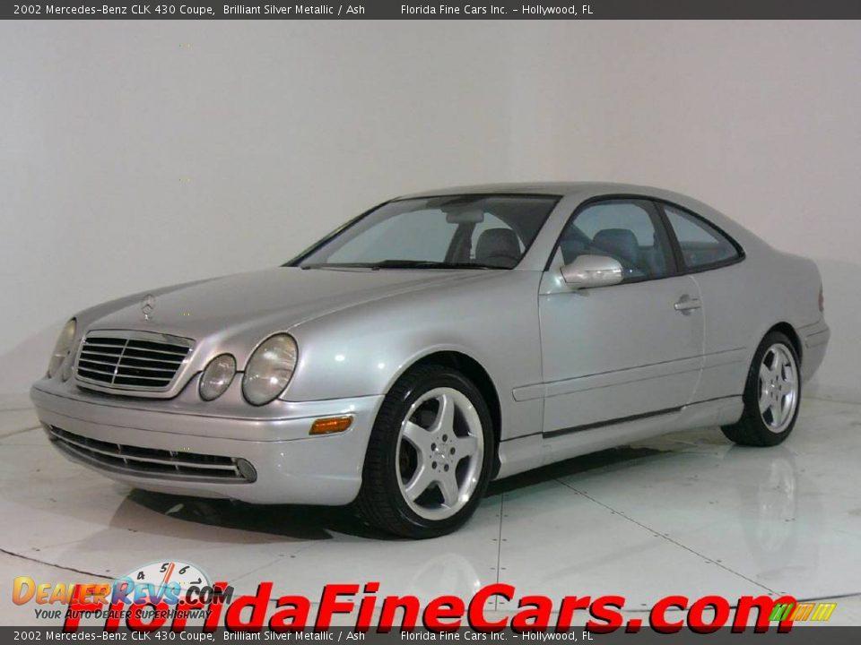 2002 mercedes benz clk 430 coupe brilliant silver metallic for Mercedes benz 430 clk