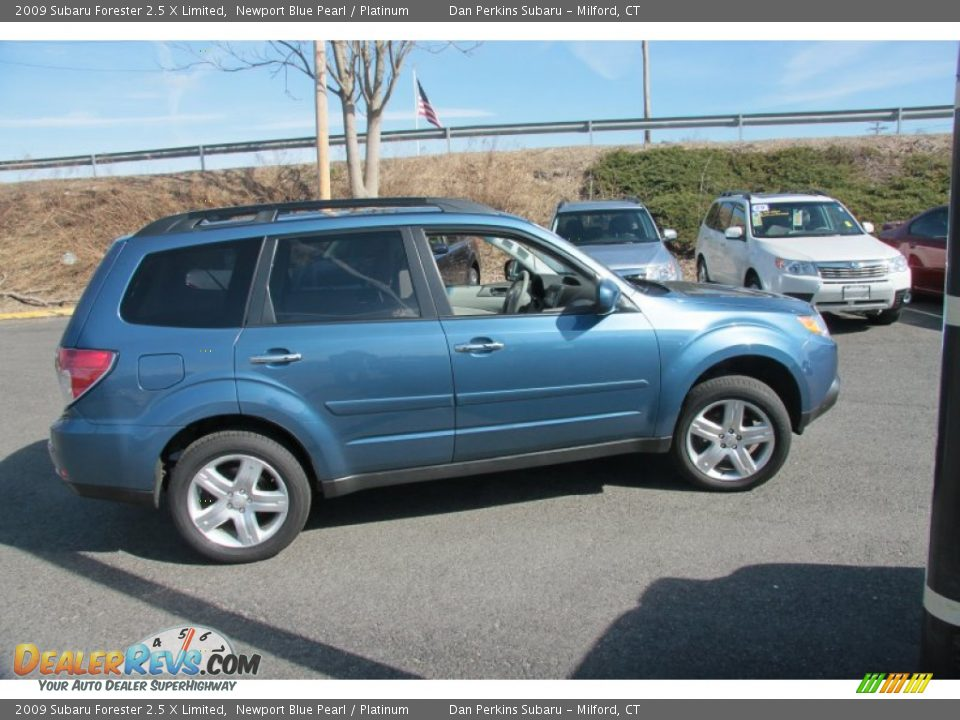 2009 subaru forester 2 5 x limited newport blue pearl platinum photo 4. Black Bedroom Furniture Sets. Home Design Ideas