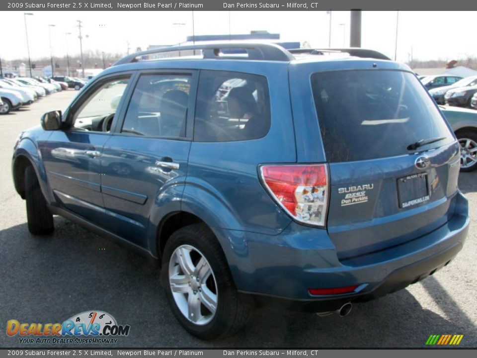 2009 subaru forester 2 5 x limited newport blue pearl. Black Bedroom Furniture Sets. Home Design Ideas