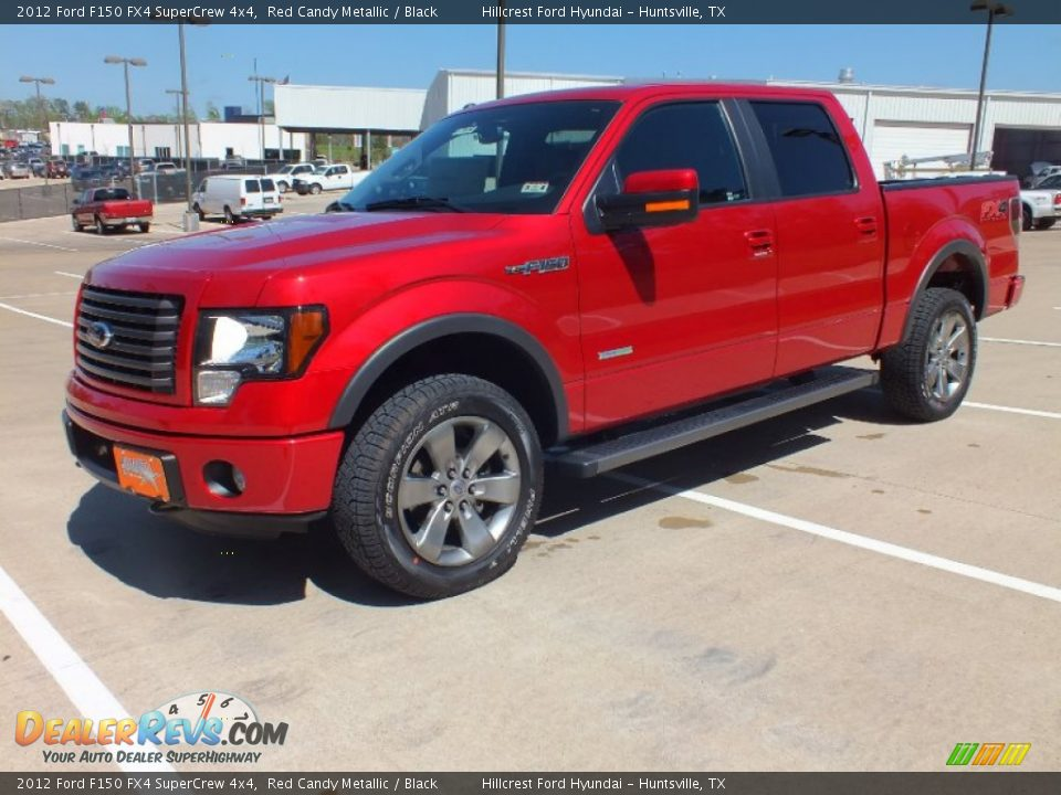 2012 ford f150 fx4 supercrew 4x4 red candy metallic black photo 9. Black Bedroom Furniture Sets. Home Design Ideas