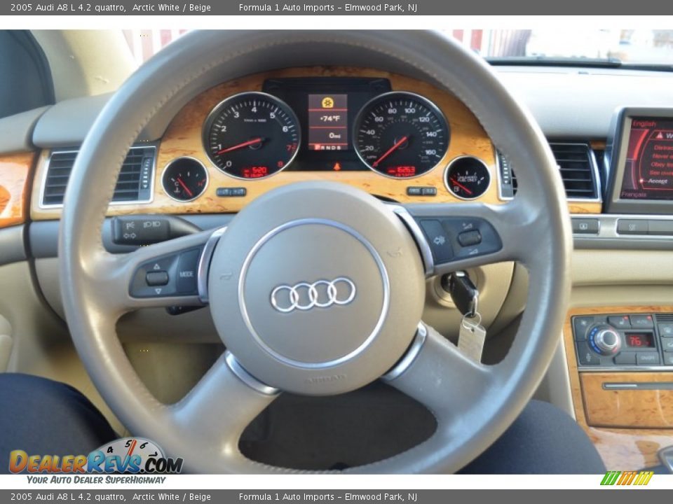 2005 Audi A8 L 4 2 Quattro Steering Wheel Photo 15