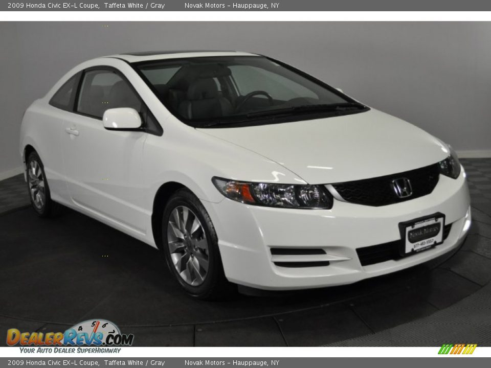 2009 honda civic ex l coupe taffeta white gray photo 7. Black Bedroom Furniture Sets. Home Design Ideas
