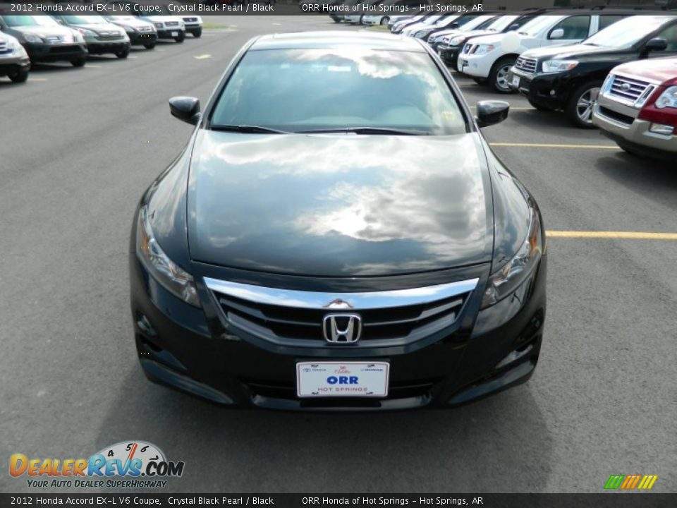 2012 honda accord ex l v6 coupe crystal black pearl black photo 8. Black Bedroom Furniture Sets. Home Design Ideas